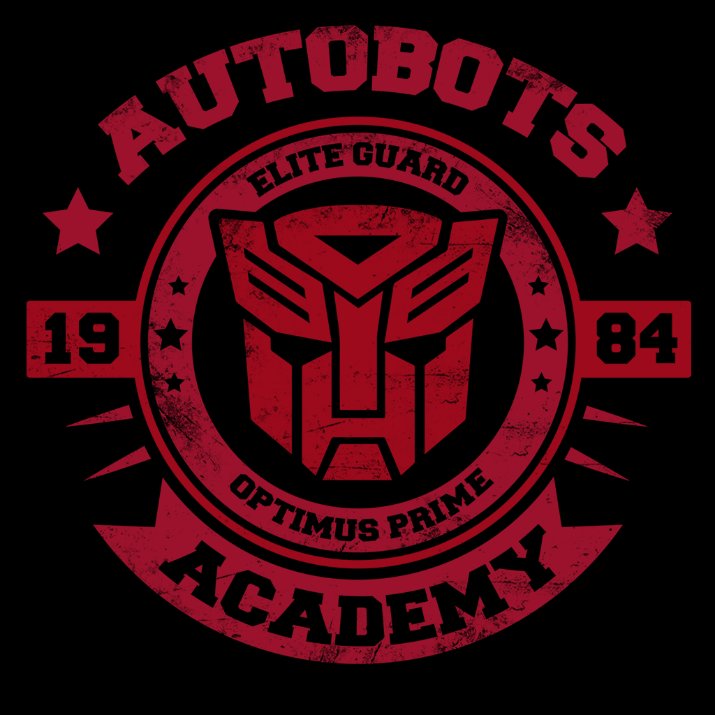 Pop-Up Tee: Autobots Academy