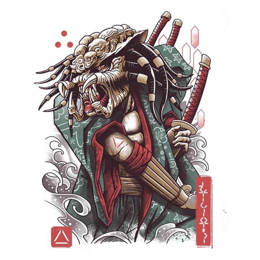 Once Upon a Tee: Samurai Predator