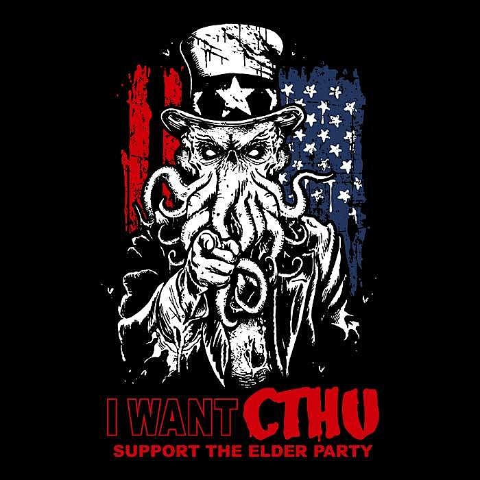 Once Upon a Tee: I Want Cthu