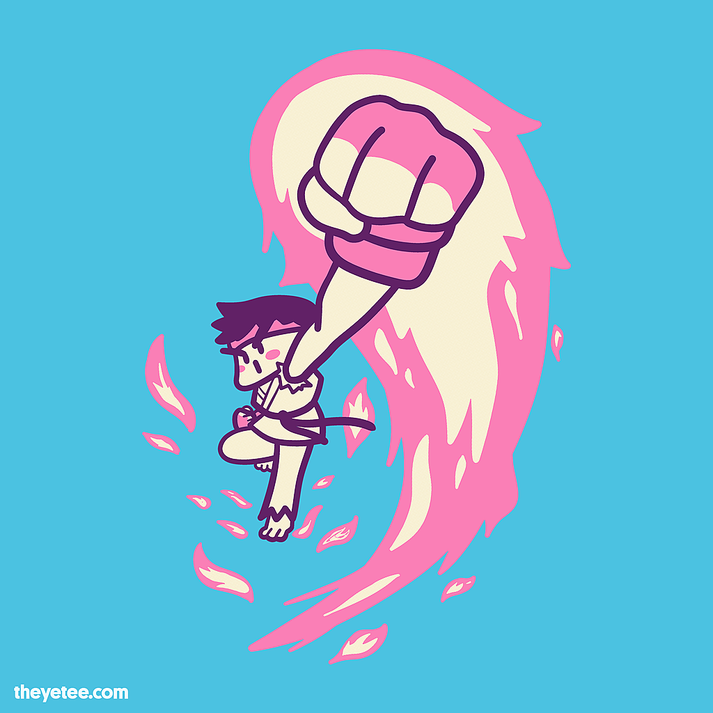 The Yetee: Quarter Circle Punch