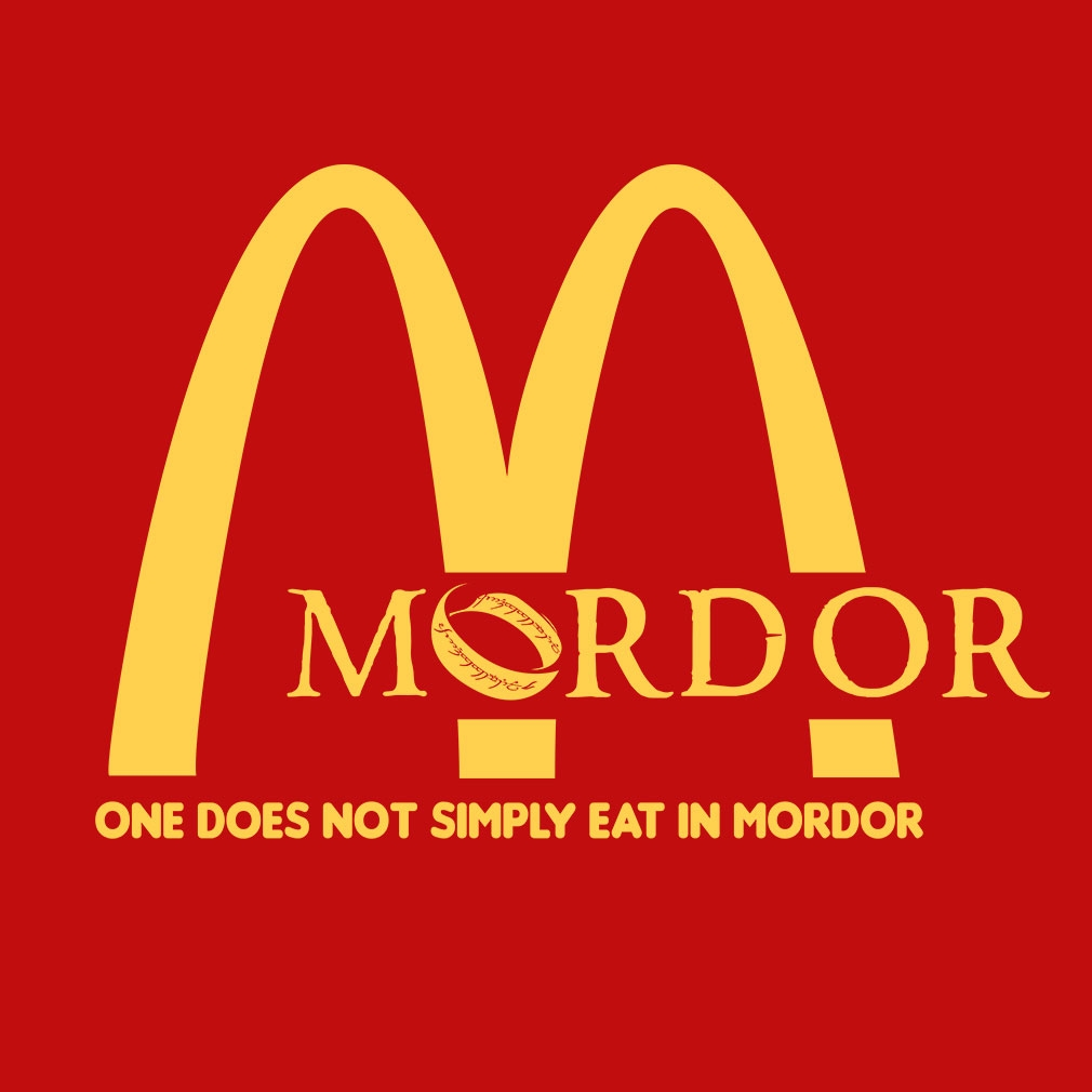 TeeTournament: McMordor - Hobbit Parody T Shirt