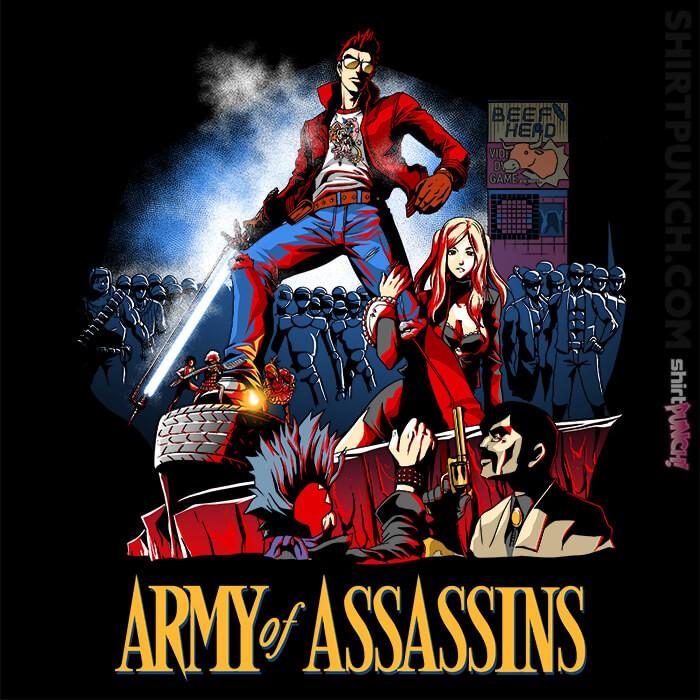 ShirtPunch: Army Of Assassins