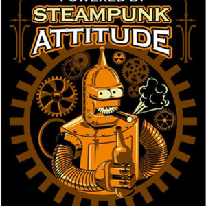 Shirt Battle: STEAMPUNK BENDER