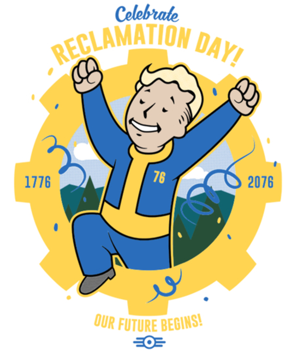 Qwertee: Reclamation Day!