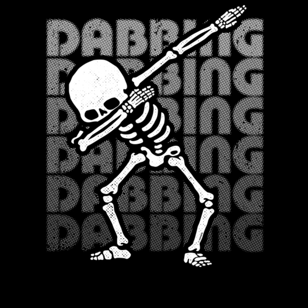 NeatoShop: Dabbing Skeleton Type White