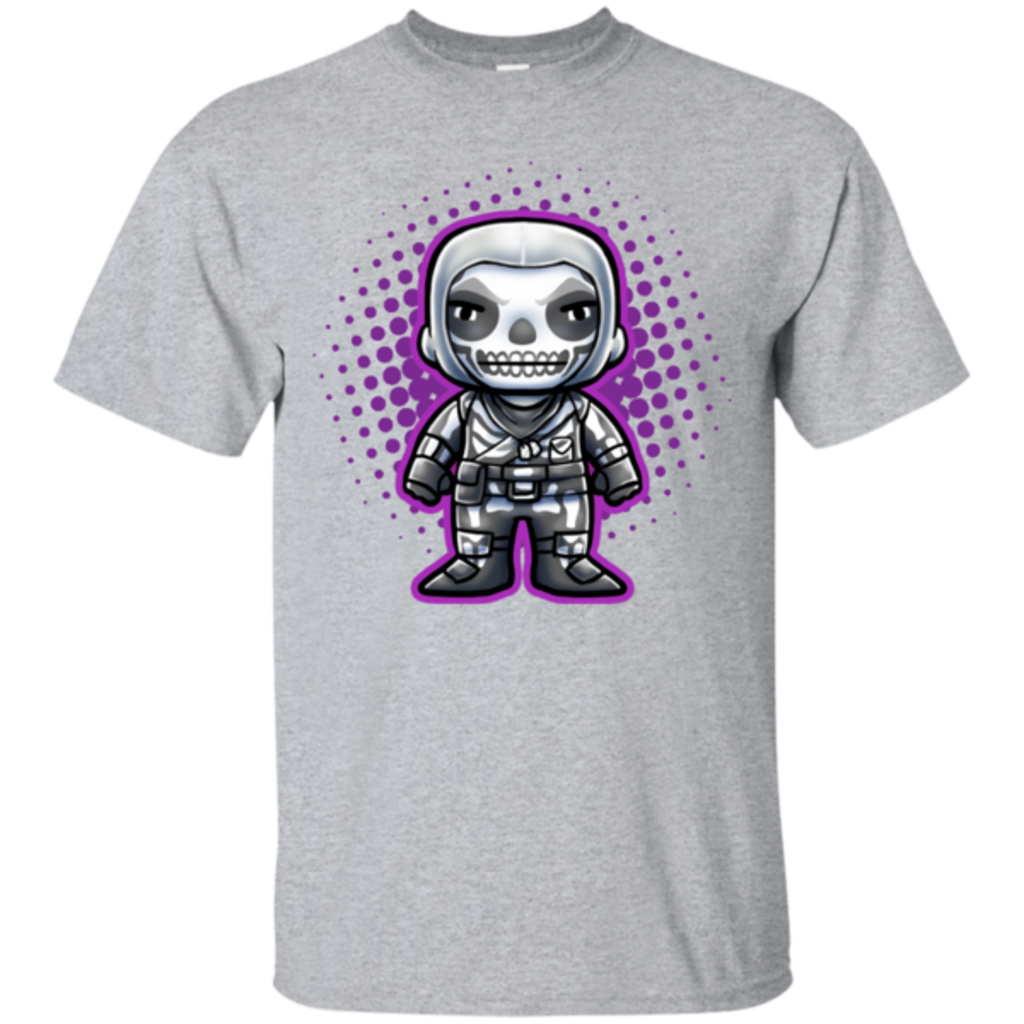 Pop-Up Tee: Skull T Chibi