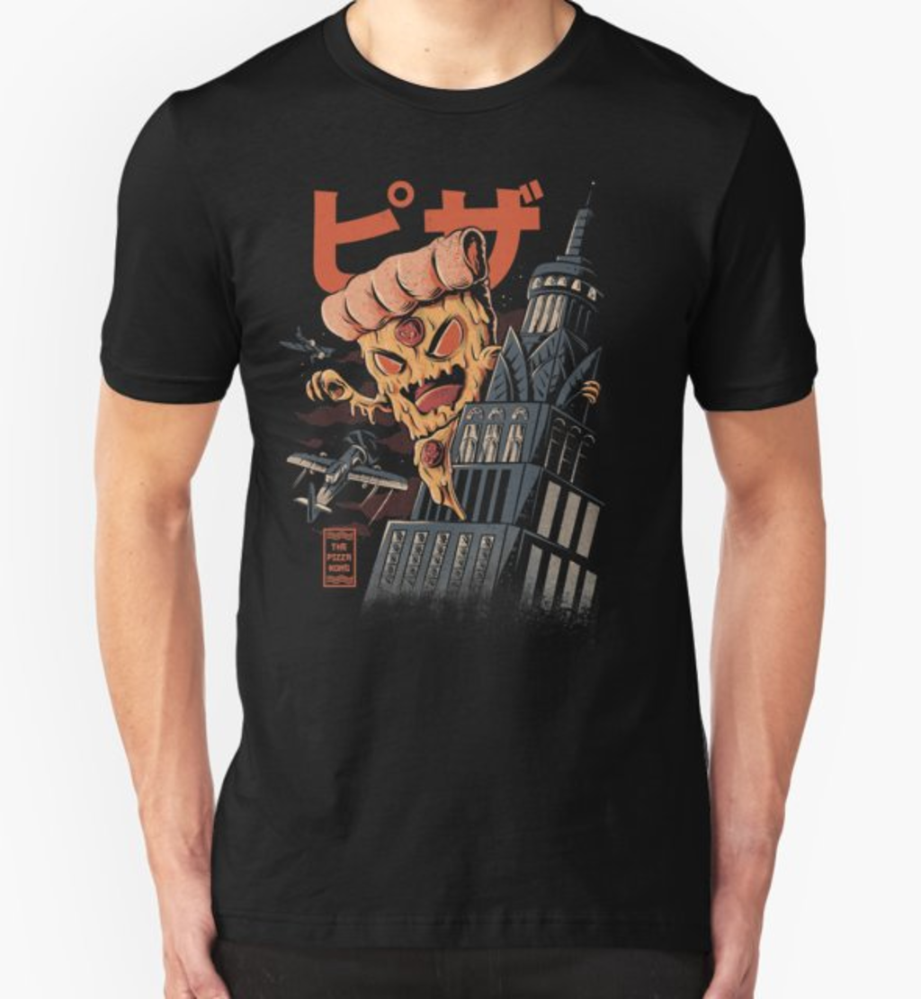 RedBubble: Pizza Kong