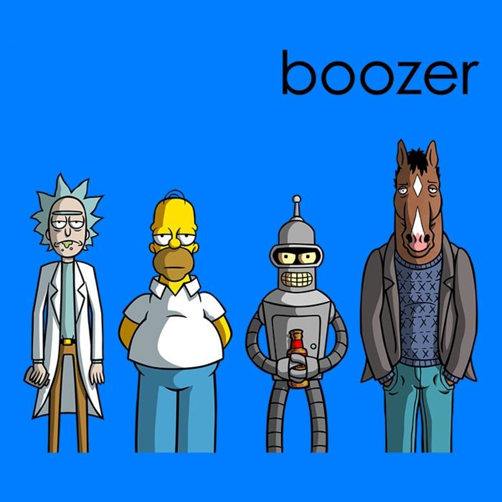 Once Upon a Tee: Boozer