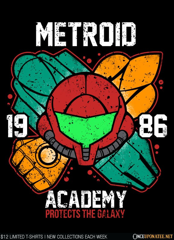 Once Upon a Tee: Metroid Academy