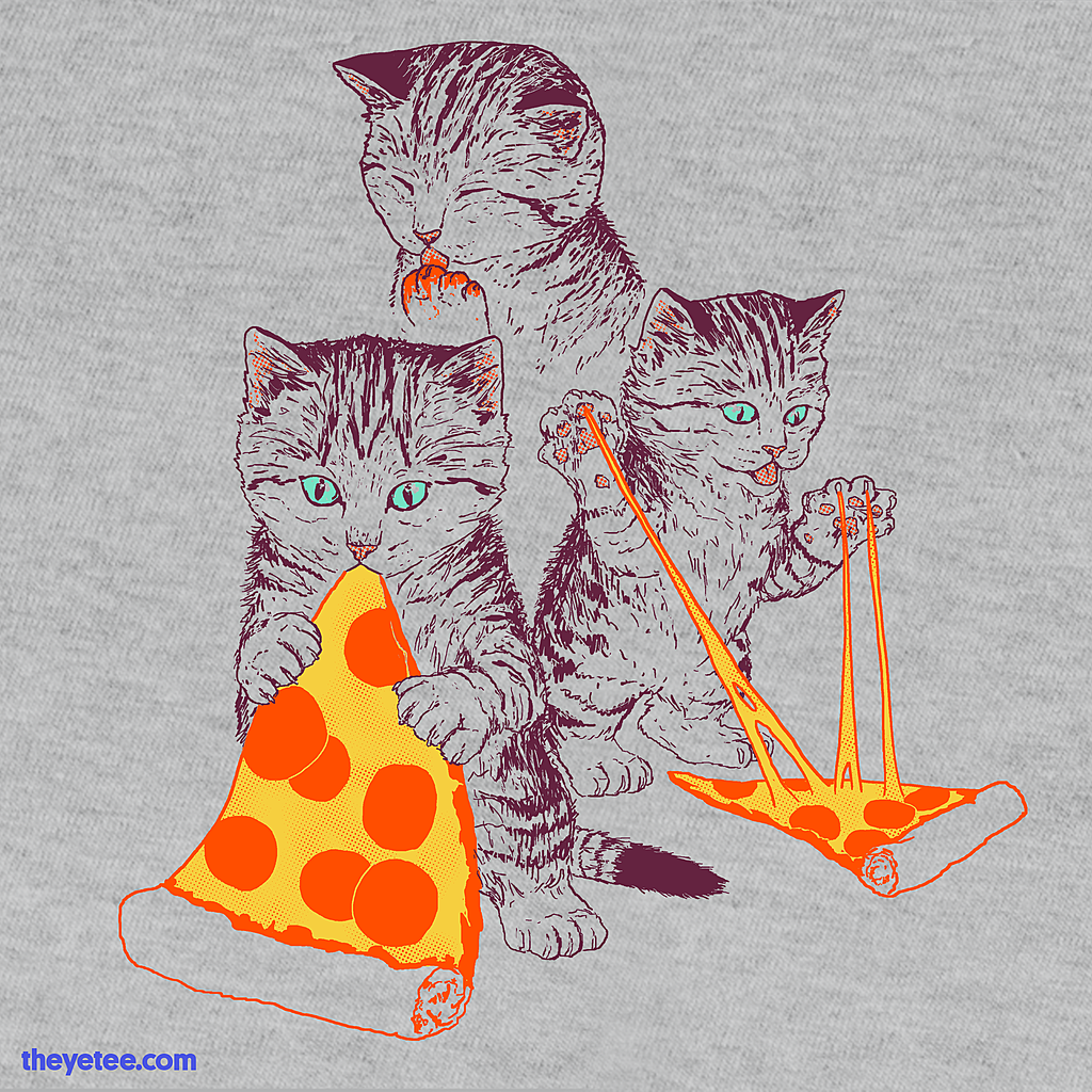 The Yetee: Pizza Kittens