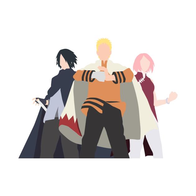 TeePublic: Naruto Sasuke Sakura