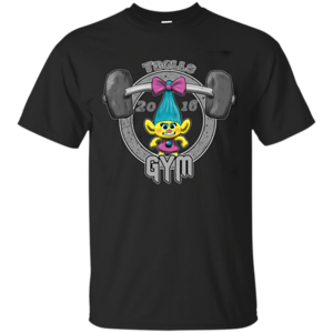 Pop-Up Tee: Trolls Gym