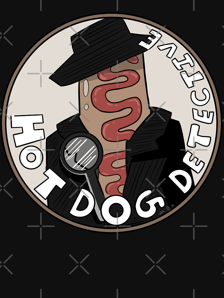 RedBubble: Hot Dog Detective!