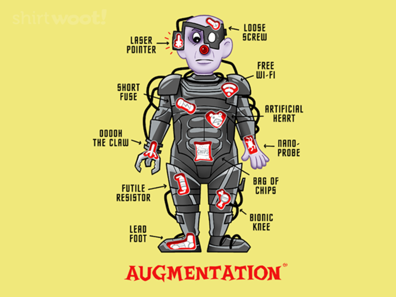 Woot!: Augmentation