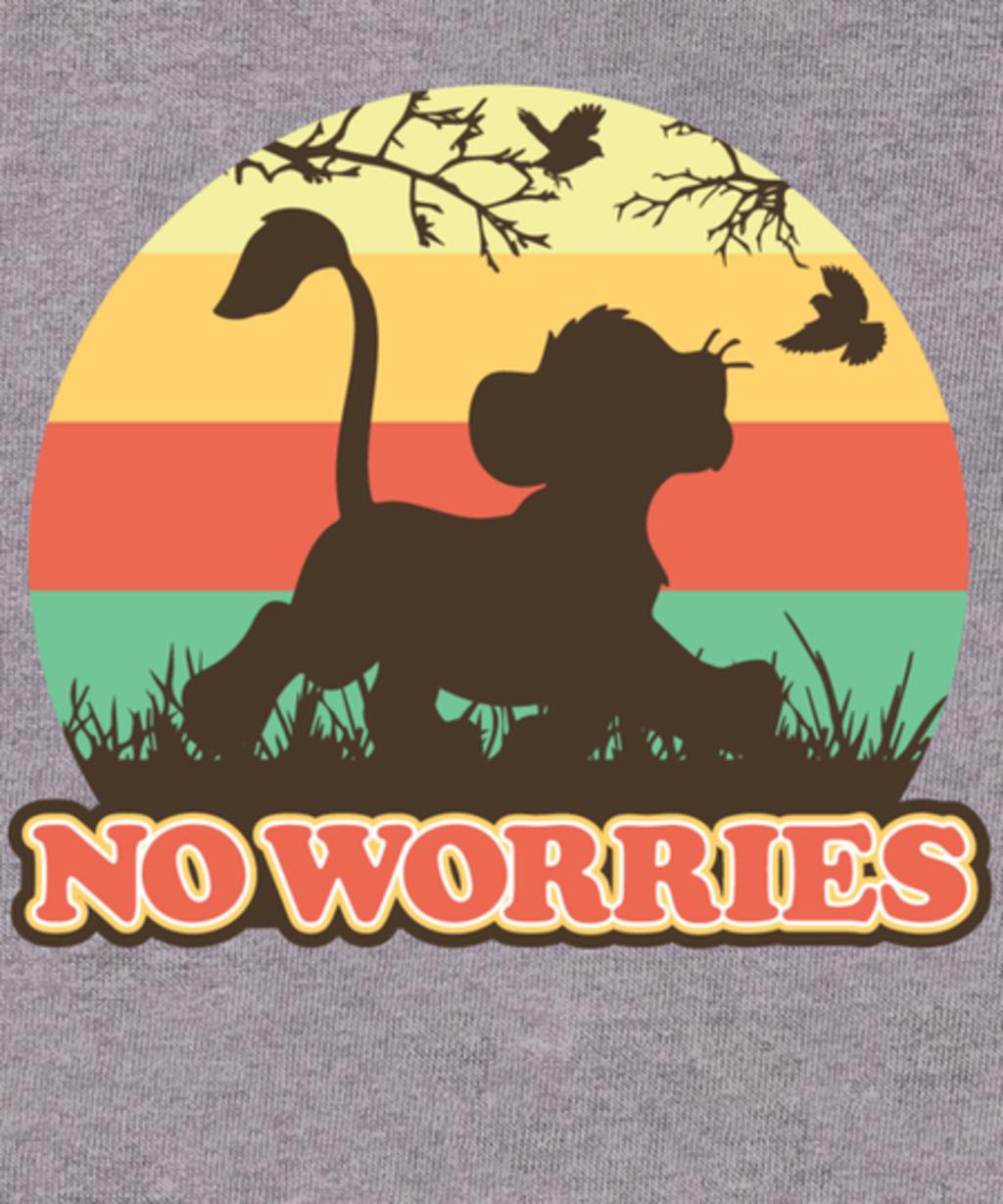 Qwertee: NO WORRIES