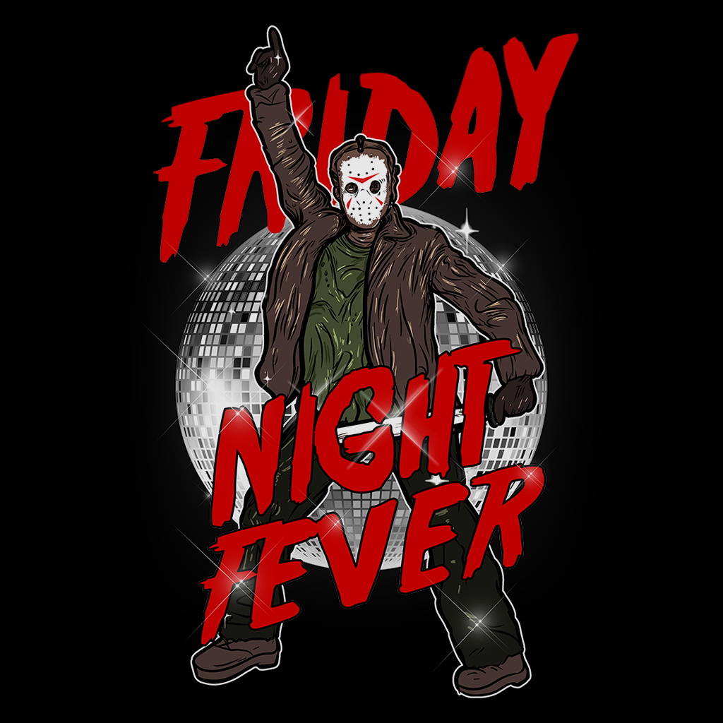 Pop-Up Tee: Friday Night Fever
