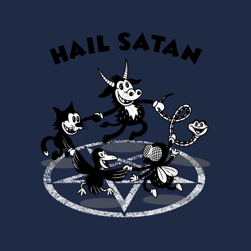 TeeFury: Hail Satan