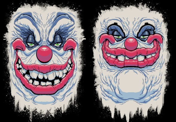 teeVillain: KILLER KLOWNS