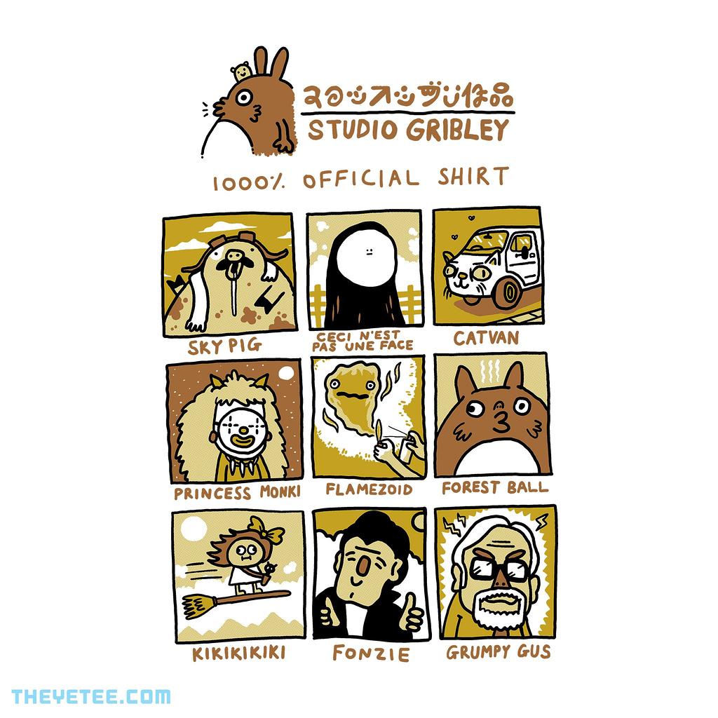 The Yetee: Studio Gribley 1000% Official Shirt