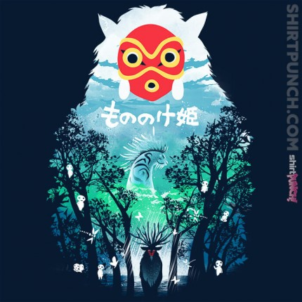 ShirtPunch: The Forest Spirit