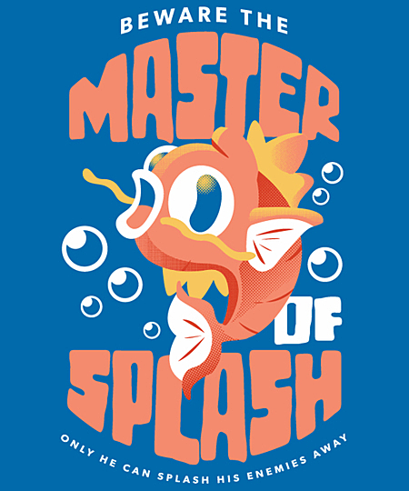 Qwertee: Master of Splash