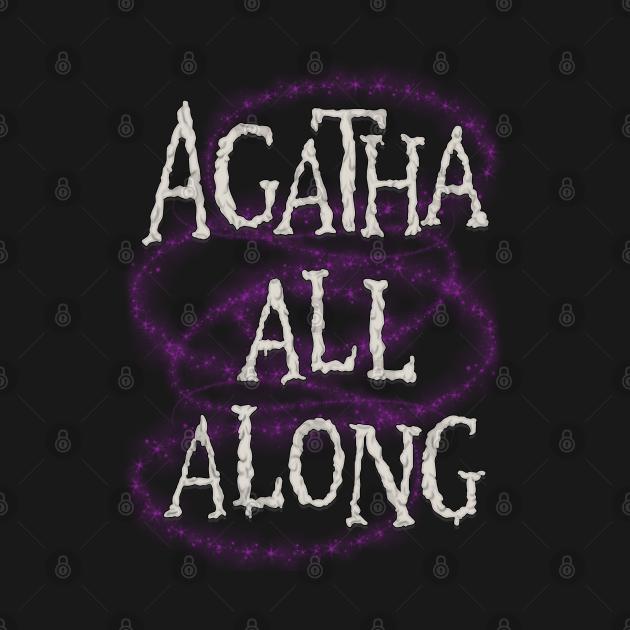TeePublic: Agatha All Along WandaVision