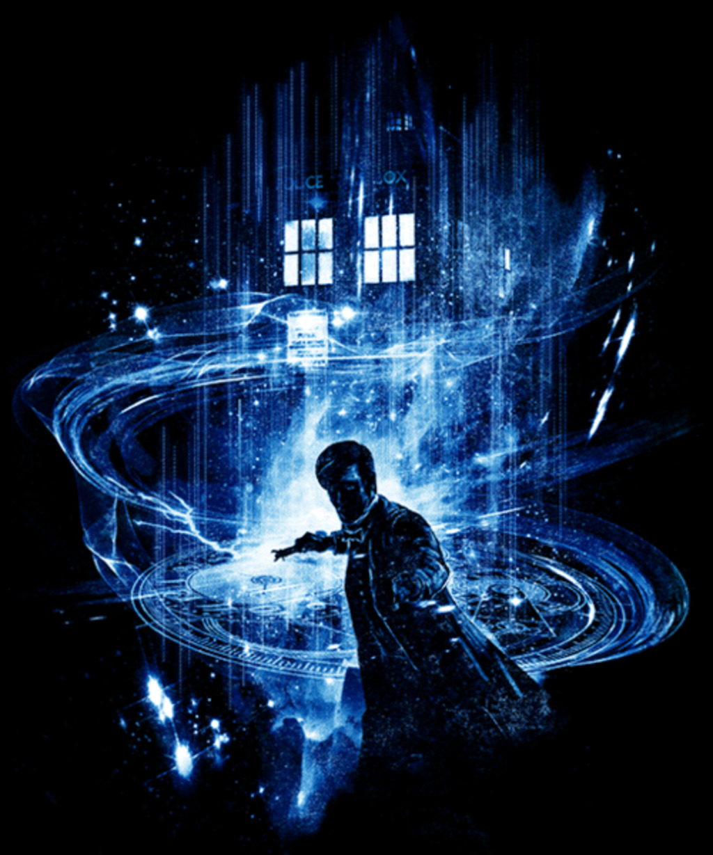 Qwertee: 11th time lord