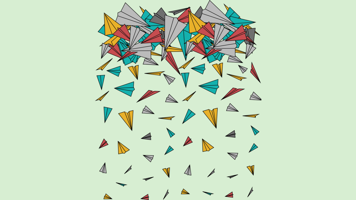 Design by Humans: Flying paper planes