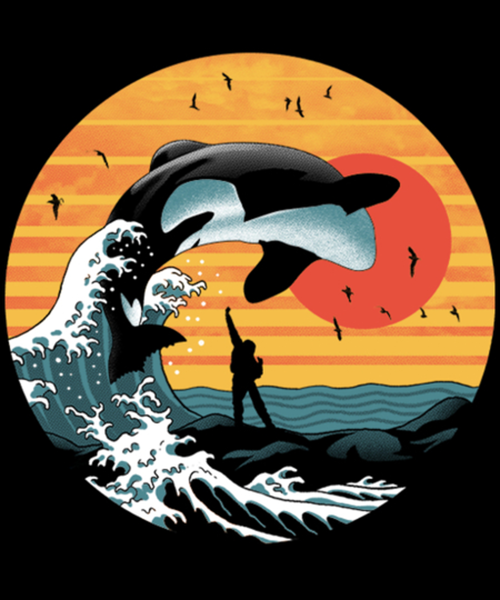 Qwertee: The Great Killer Whale