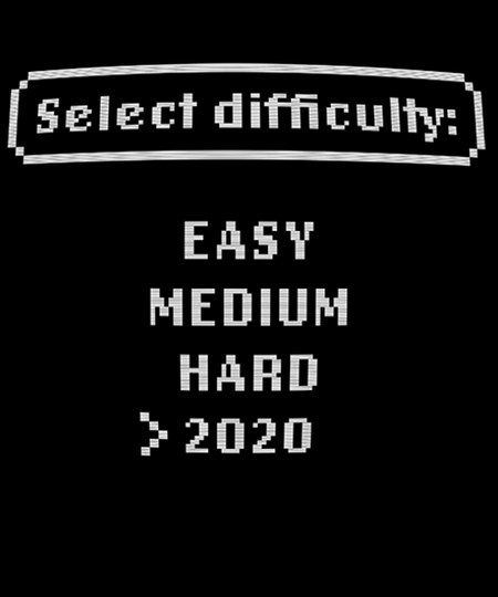 Qwertee: Select Difficulty 2020