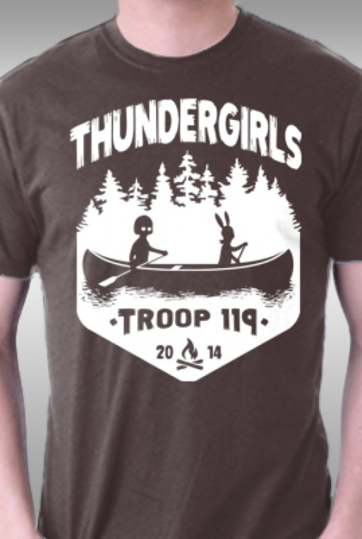 TeeFury: Thundergirls
