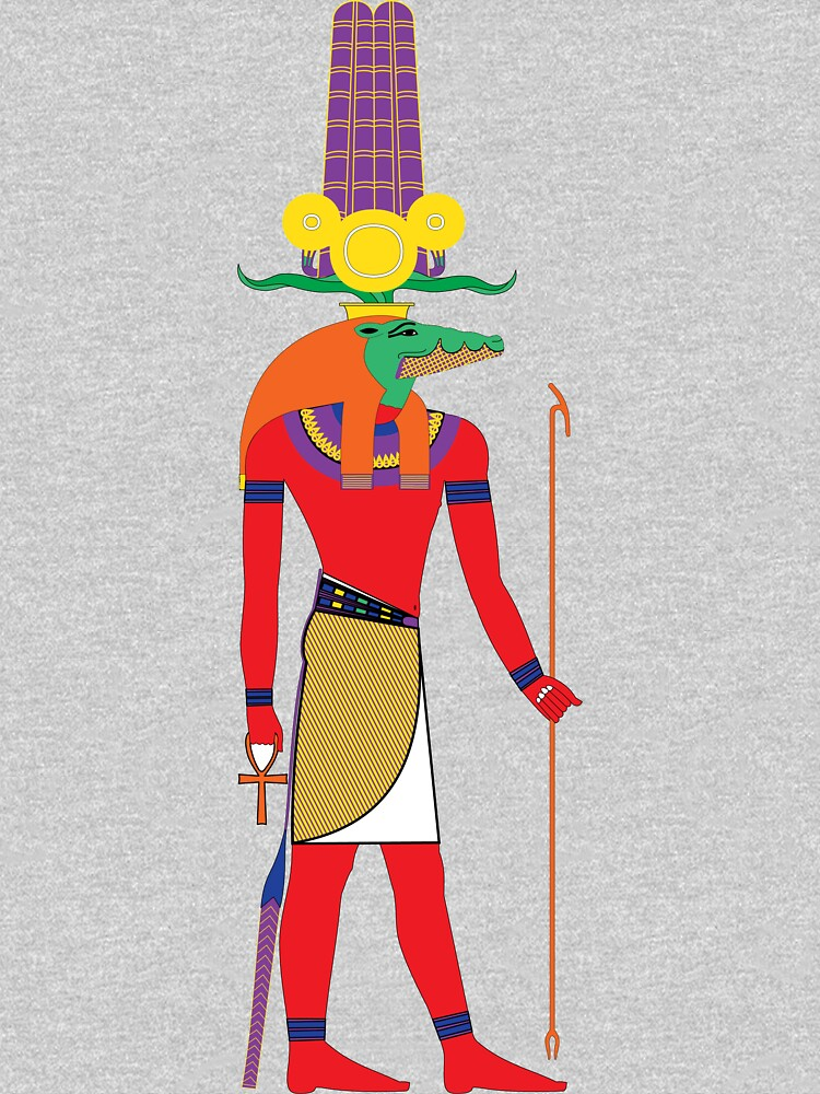 RedBubble: Sobek [FRESH Colors]   Egyptian Gods, Goddesses, and Deities