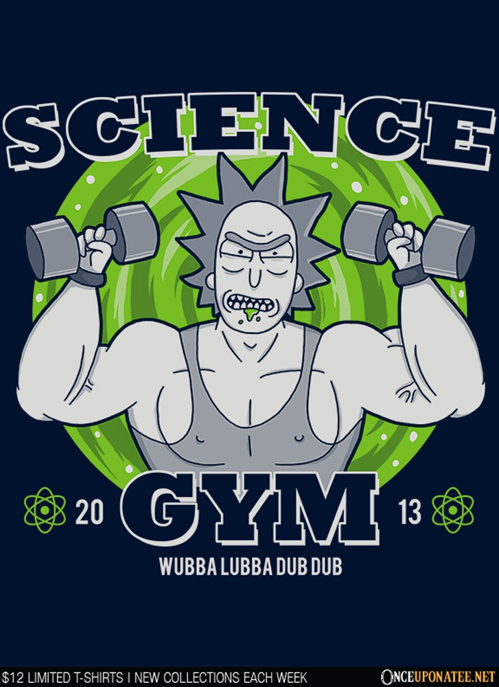 Once Upon a Tee: Science Gym