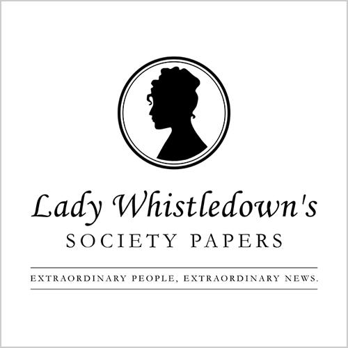 Five Finger Tees: Lady Whistledown's Society Papers T-Shirt