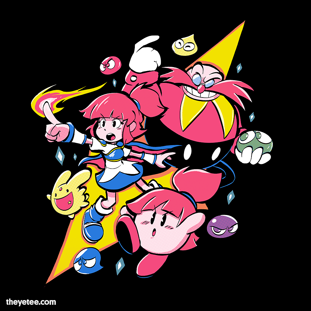The Yetee: Bean Pop Avalanche!