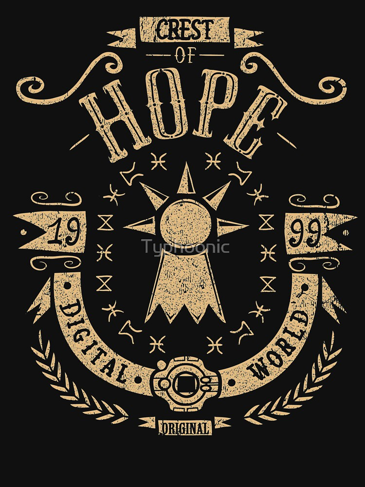 RedBubble: Crest of Hope - Angemon - T.K