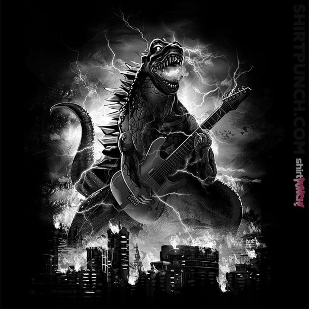 ShirtPunch: Guitarzilla