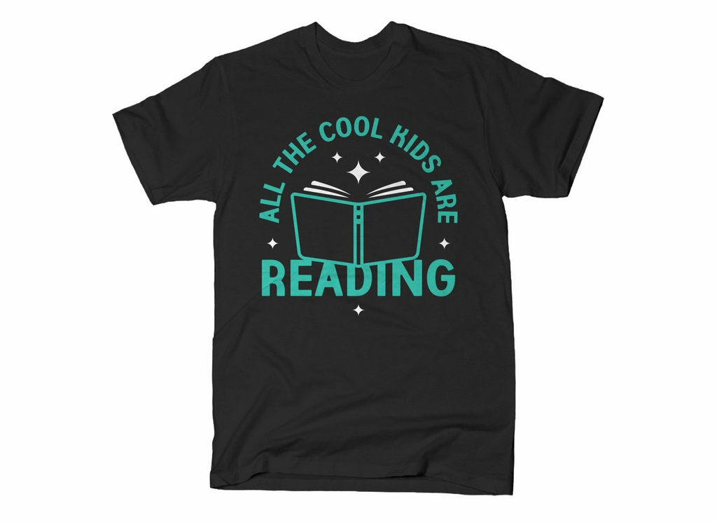 SnorgTees: All The Cool Kids Are Reading