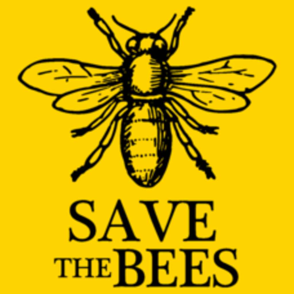 Textual Tees: Save The Bees