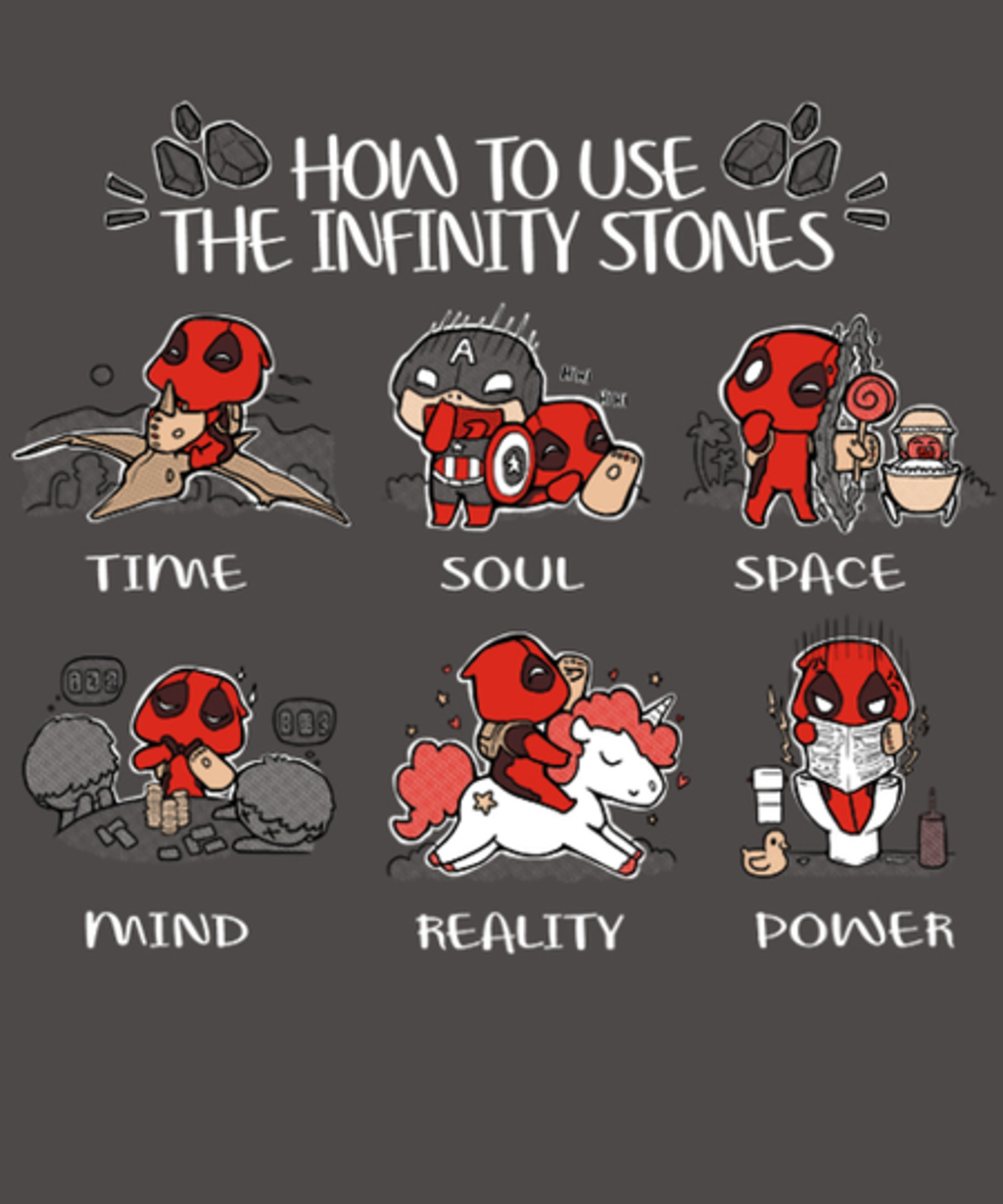 Qwertee: How to use stones