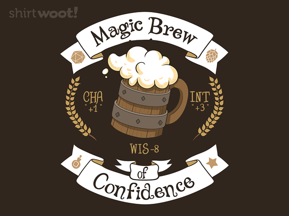 Woot!: Magic Brew Of Confidence