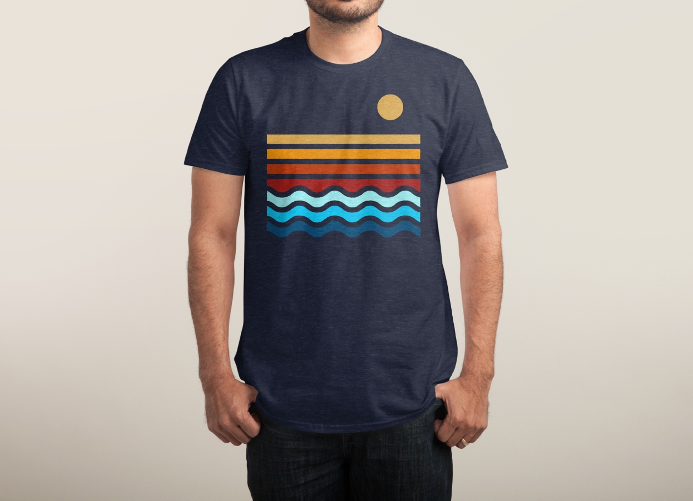 Threadless: Beach Stack