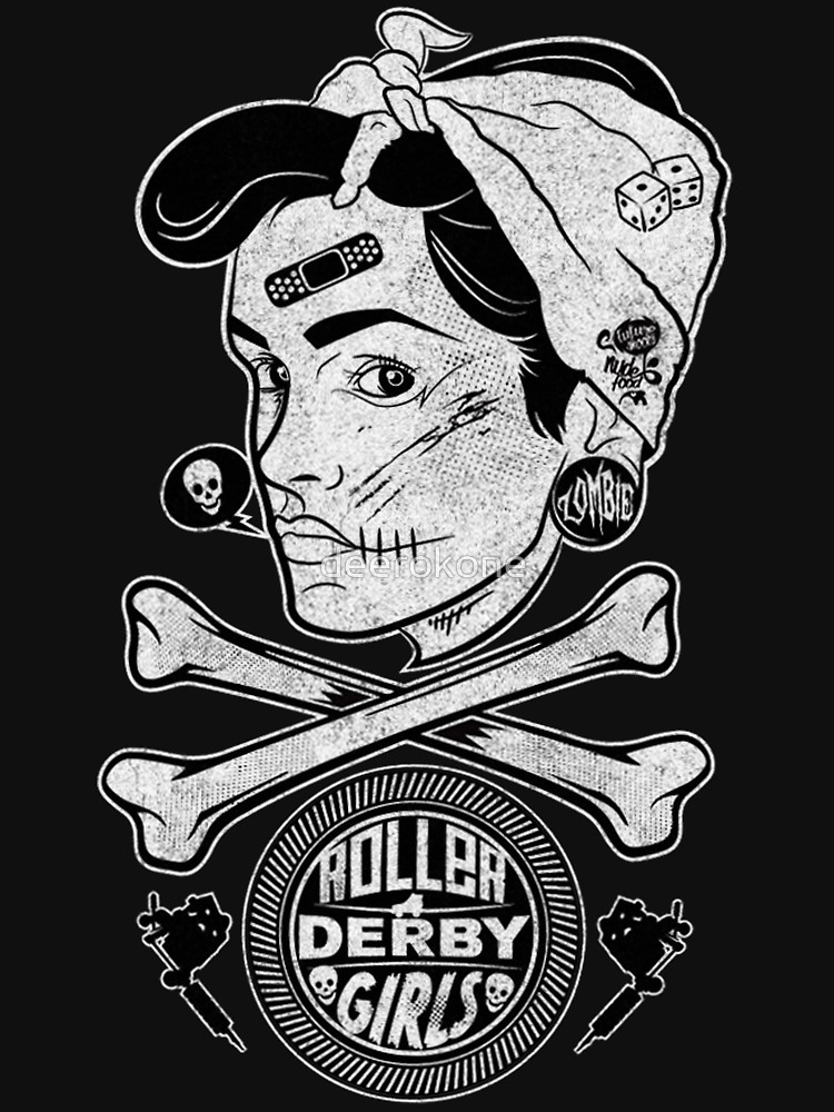 RedBubble: Zombie Roller Derby Girls