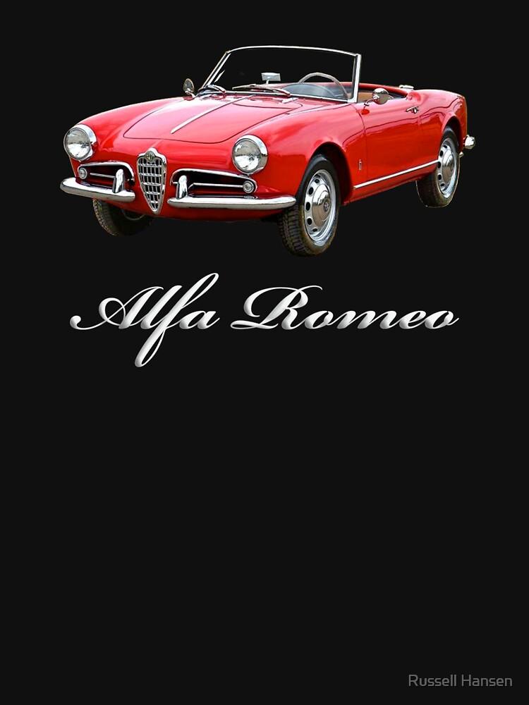 RedBubble: Alpha Romeo Car with Alfa Romeo name