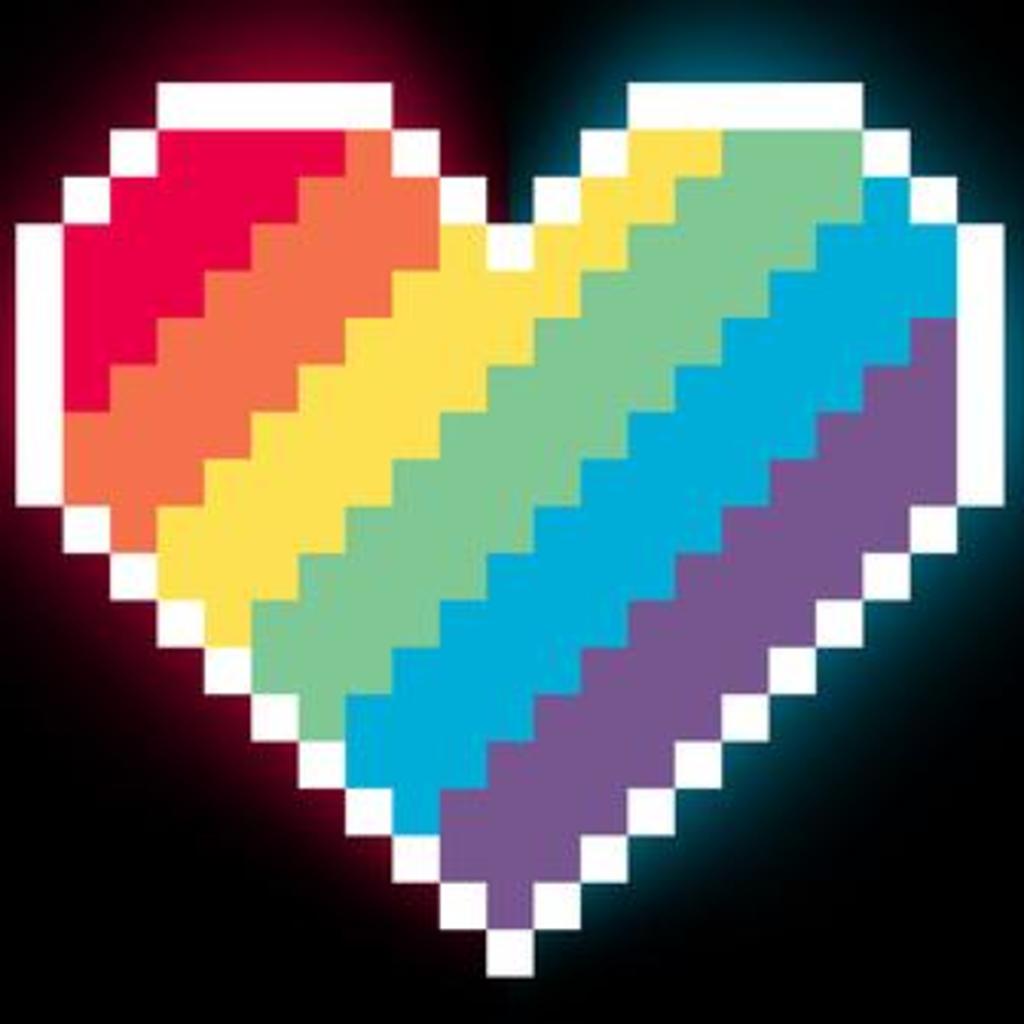 TeeTurtle: 8-Bit Heart