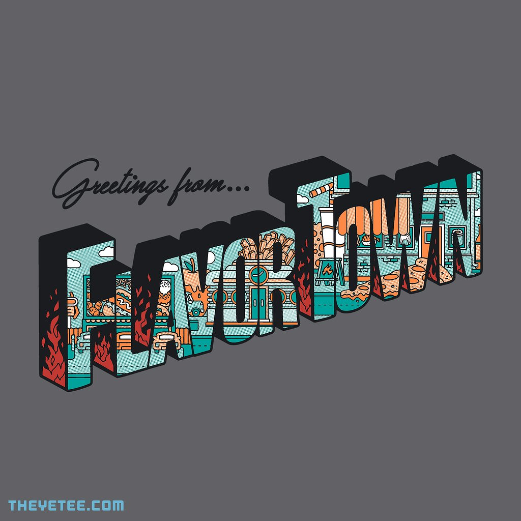 The Yetee: FLAVORTOWN