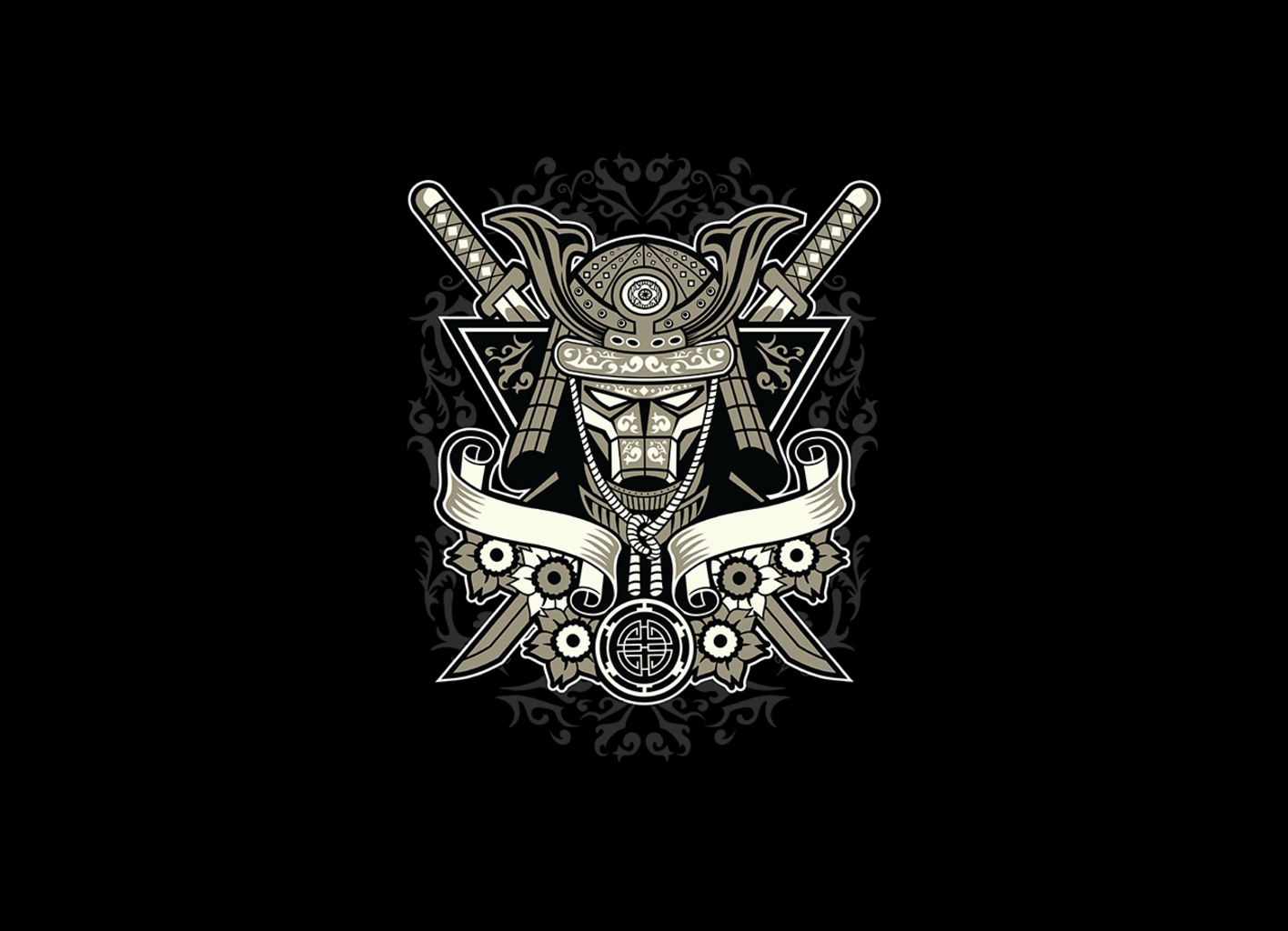 Threadless: Samurai Warrior