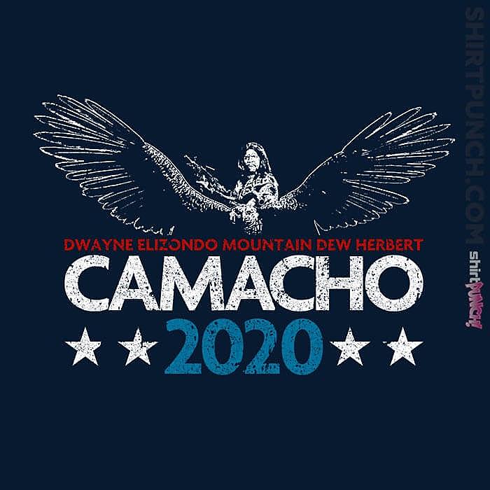 ShirtPunch: Camacho 2020