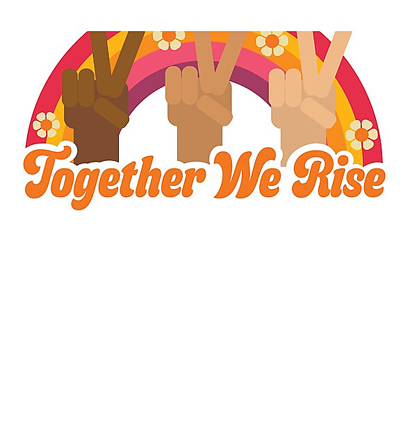 RedBubble: Together We Rise by Ashley Scott Designs
