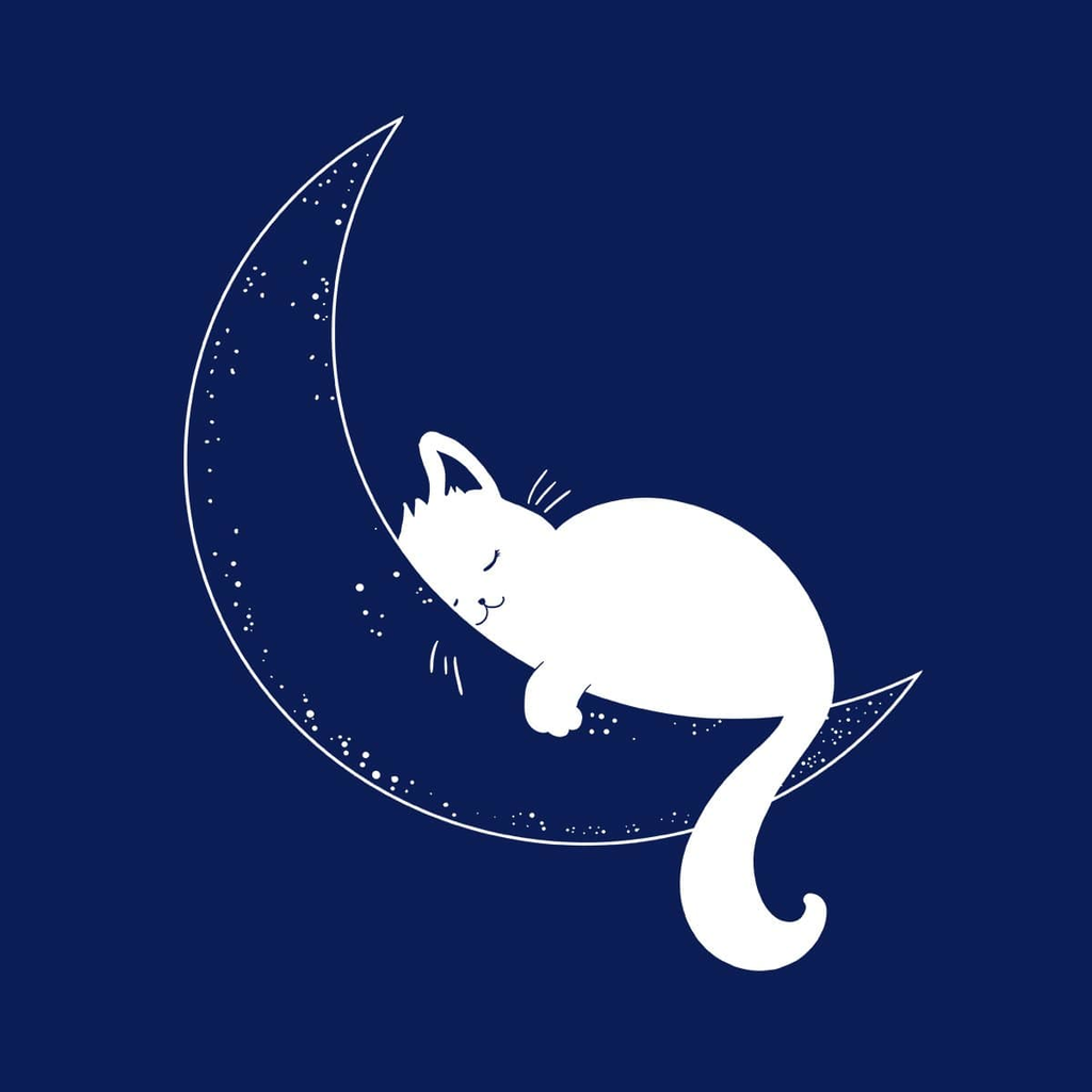 BustedTees: Cat Moon